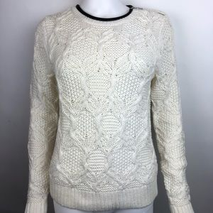 Ann Taylor LOFT Cable Knit Pullover Sweater